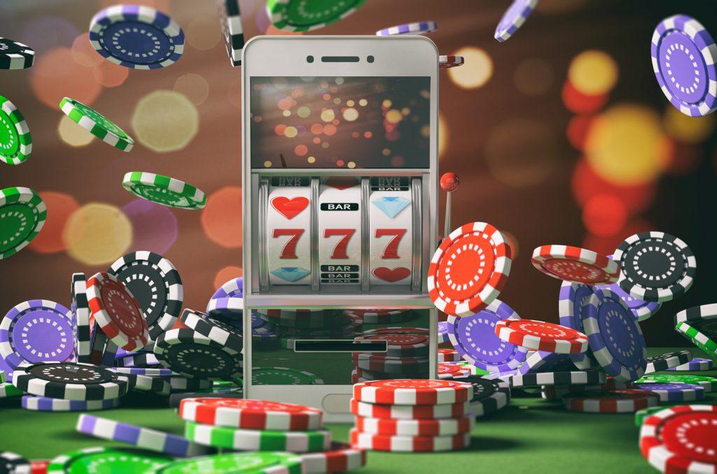 Online Casino Gambling Concept